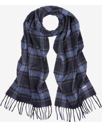 Bally - Tartan Wool Cashmere Scarf - Lyst