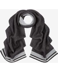 Bally - Cable Knit Scarf - Lyst