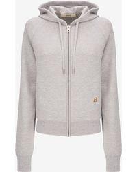 Bally - Wool Hooded Sweatshirt - Lyst