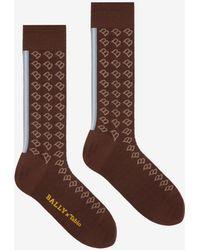 Bally - X Tabio 'b' Socks - Lyst
