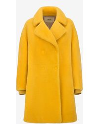 Bally - Inside-out Shearling Coat - Lyst
