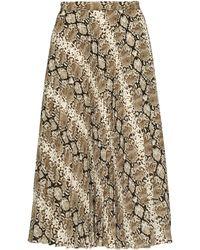 a022ca26e Banana Republic Petite Pleated Tulle Midi Skirt in Blue - Lyst