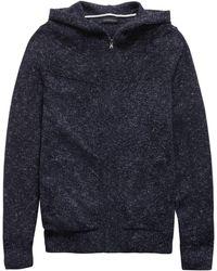 Banana Republic - Space-dye Sweater Hoodie - Lyst