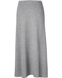 Banana Republic - Italian Superloft Midi Sweater Skirt - Lyst