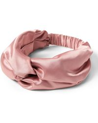Banana Republic - Satin Twist Headband - Lyst