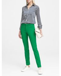 Banana Republic - Sloan Skinny-fit Solid Ankle Pant - Lyst