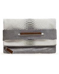 Banana Republic - August Handbags | Sorrento Foldover Clutch - Lyst