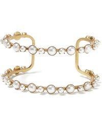 Banana Republic - Elizabeth Cole   Simple Pearl Bracelet - Lyst