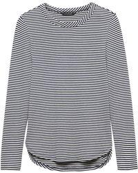 14997f56d2dfc Banana Republic - Petite Luxespun Curved Hem T-shirt - Lyst