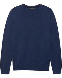 Banana Republic - Italian Merino Wool Crew-neck Sweater - Lyst