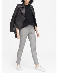 Banana Republic - Petite Sloan Skinny-fit Plaid Ankle Pant - Lyst