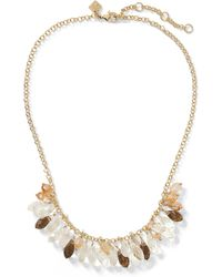 Banana Republic - Sea Glass Necklace - Lyst