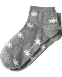 Banana Republic - Snowflake Bootie Sock - Lyst