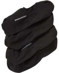 Banana Republic Factory - Black Basic No-show Sock (2-pack) - Lyst