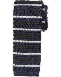 Banana Republic Factory - Knit Striped Tie - Lyst