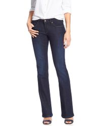 Banana Republic Factory - Petite Dark Slim Boot Jean - Lyst