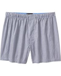 Banana Republic Factory - Blue Micro Stripe Boxers - Lyst