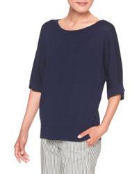 Banana Republic Factory - Button-waist Elbow Sleeve Sweater - Lyst