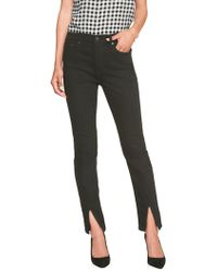 Banana Republic Factory - Faderesist High Rise Slit Front Skinny Jean - Lyst