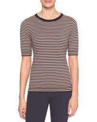Banana Republic Factory - Stripe Elbow Sleeve Pullover Sweater - Lyst