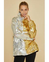 Nike - Sportswear Women's Metallic Jacket - Lyst