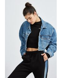 RE/DONE - Cropped Jacket - Lyst
