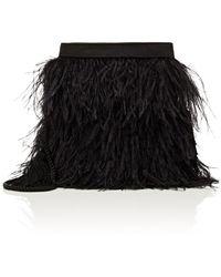 645319ad4f8 Lyst - Barneys New York Velvet Belt Bag in Black