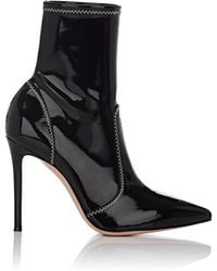 Gianvito Rossi - Vinyl Ankle Boots - Lyst