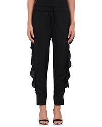 Manning Cartell - Ruffle Satin Pants - Lyst