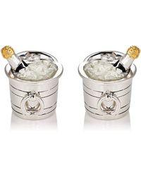 Jan Leslie | Champagne Bucket Cufflinks | Lyst