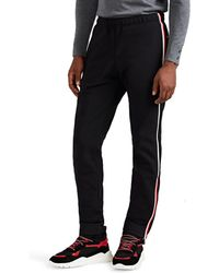 Moncler Grenoble - Striped Tech-fleece Jogger Pants - Lyst