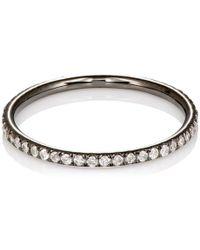 Ileana Makri - White Diamond Threadband Size 6 - Lyst