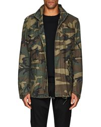 Alpha Industries - Thedrop@barneys: who's Your Daddy? Camouflage Field Coat - Lyst