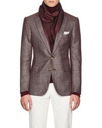 Bigi - Reversible Silk & Wool Scarf - Lyst