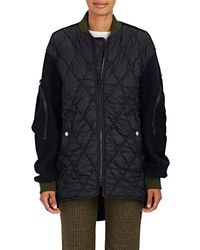 Tim Coppens - Quilted Oversized Bomber Coat - Lyst