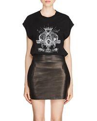 Saint Laurent - loving Romance League Cotton Muscle T-shirt - Lyst