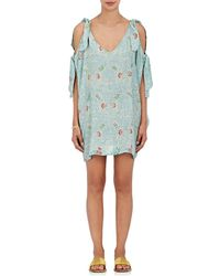 Natalie Martin - Leanne Floral Silk Tunic Dress - Lyst