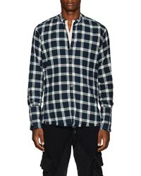 Greg Lauren - Plaid Cotton Flannel Studio Shirt Size 1 - Lyst