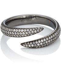 Eva Fehren - Claw Wrap Ring - Lyst