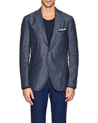 Boglioli - k Jacket Silk-linen Two - Lyst
