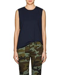 Nili Lotan - Cotton Muscle Tank - Lyst