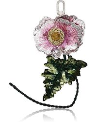 Altuzarra - Sequined Flower Bag Charm - Lyst