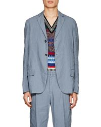 Acne Studios - Lund Linen Two-button Sportcoat - Lyst