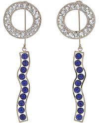 CALVIN KLEIN 205W39NYC - Embellished Ear Jackets - Lyst