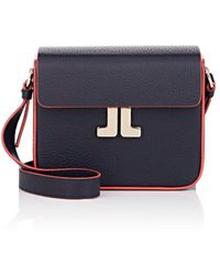 Lanvin - Jl Leather Crossbody Bag - Lyst