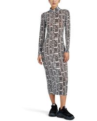 Ksubi - the Opposite Mesh Dress Size S - Lyst