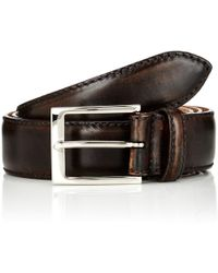 Harris - Smooth Leather Belt - Lyst