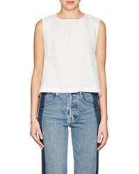 Simon Miller | Veyo Linen Sleeveless Top | Lyst