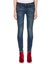 R13 - Alison Skinny Jeans - Lyst