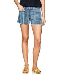 10 Crosby Derek Lam - Liv Denim Girlfriend Shorts - Lyst